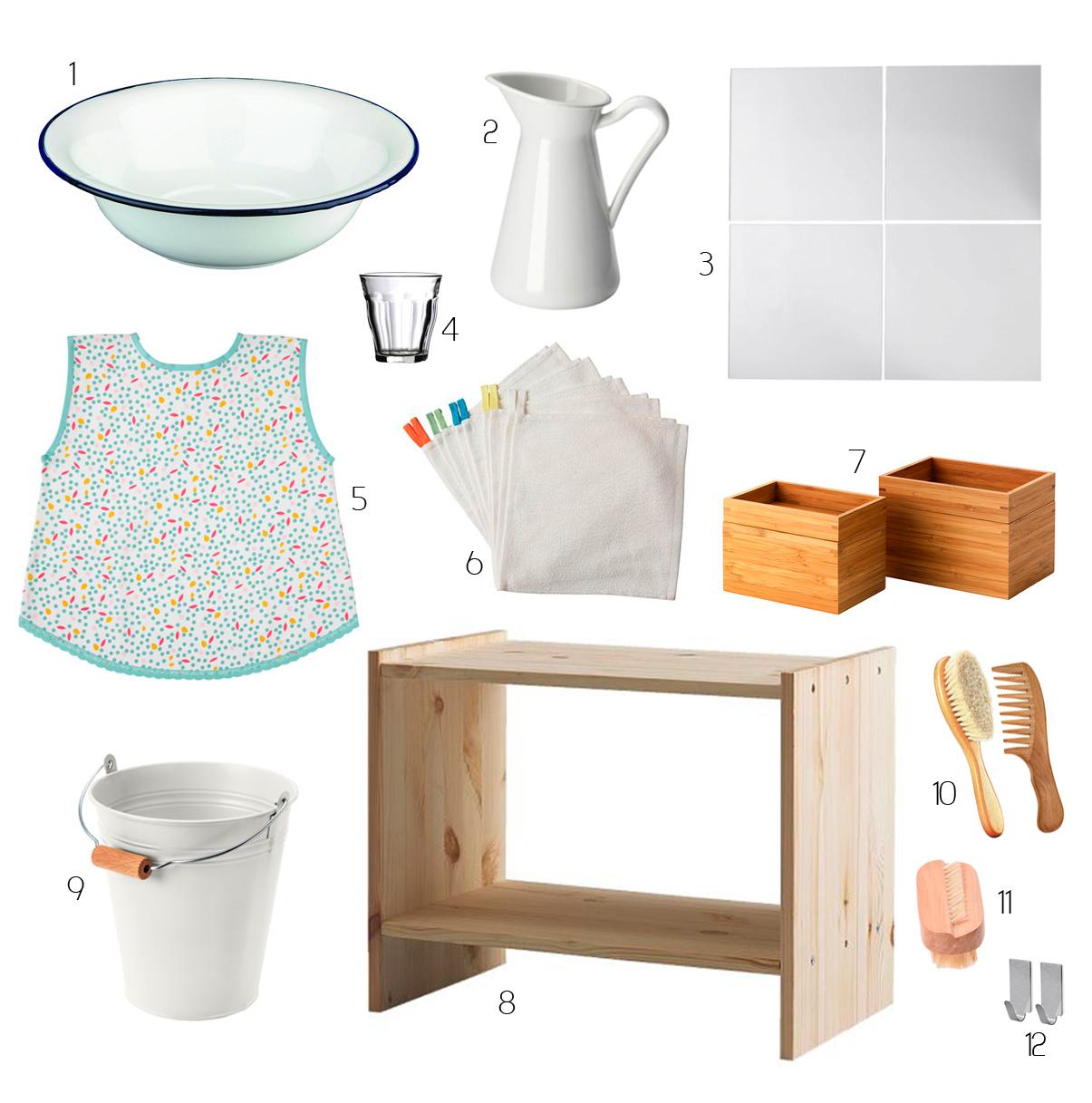 Comment créer un espace salle de bain Montessori pour votre enfant ? -