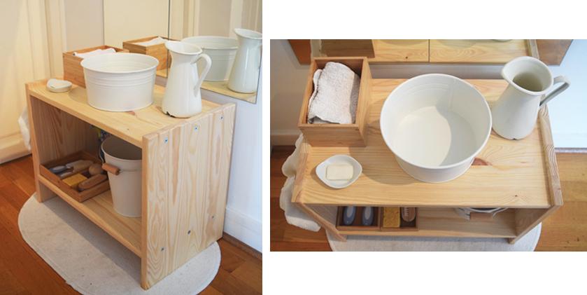 Comment créer un espace salle de bain Montessori pour votre ...