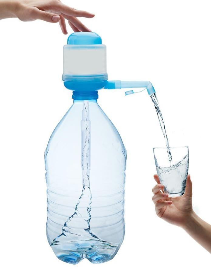 Point d'eau en plastique