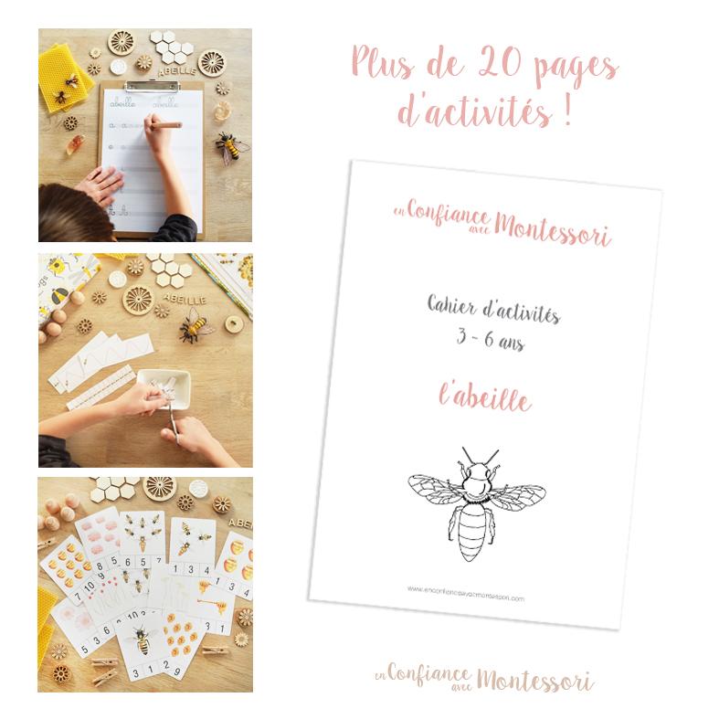 Cahier d'activités sur les abeilles