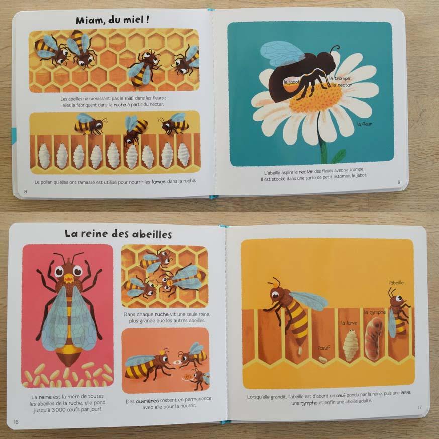 Livre 4 sur le thème de l'abeille