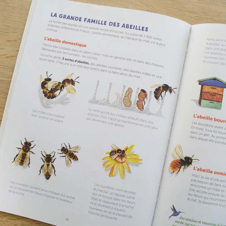 Livre 5 sur le thème de l'abeille