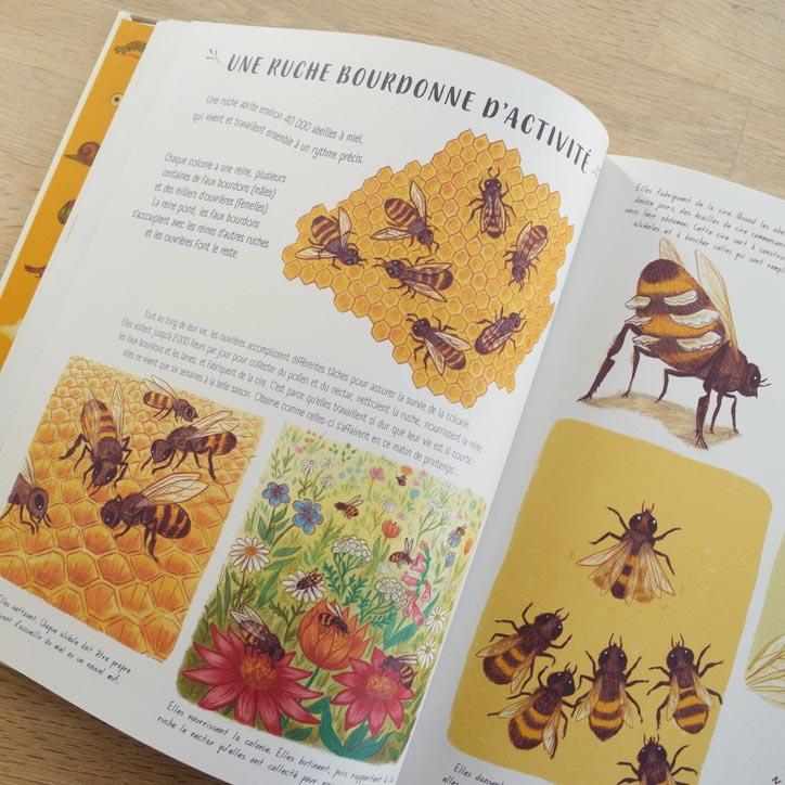 Livre 7 sur le thème de l'abeille